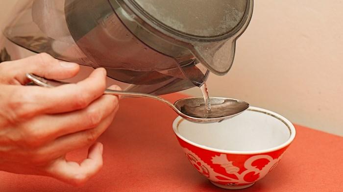 как пить перекись водорода